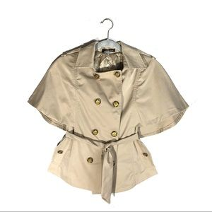 NWT Bingkee Batwing Trench Coat